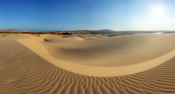 Cồn cát Quang Phú – Thiên đường cát ở Quảng Bình